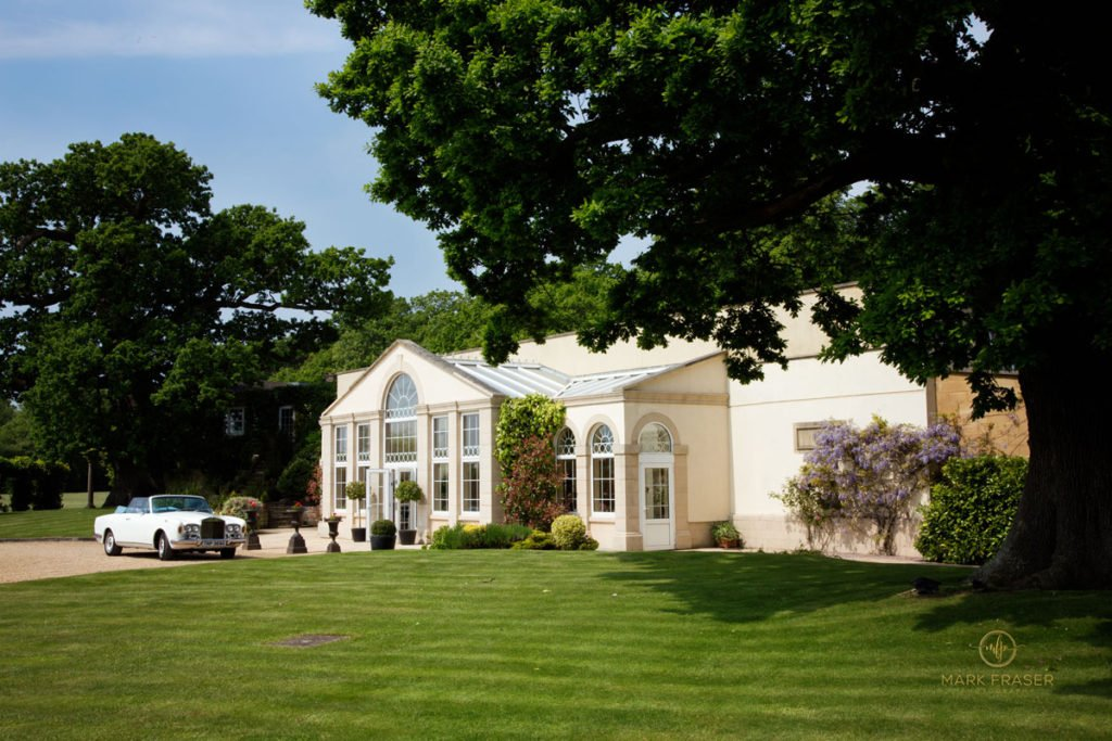 Whittlebury Park Orangery - Recommended if you Choosing a wedding venue