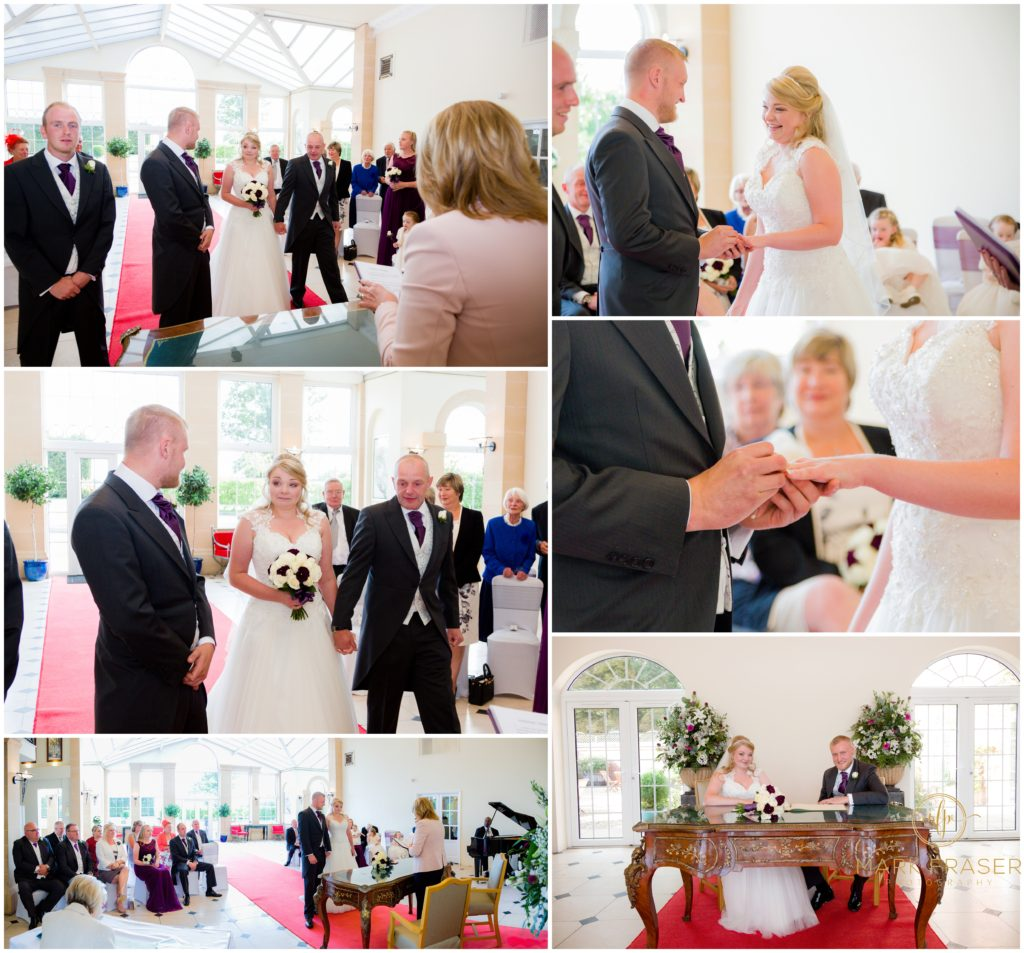 Sophie and Robert Whittlebury Parlk Wedding