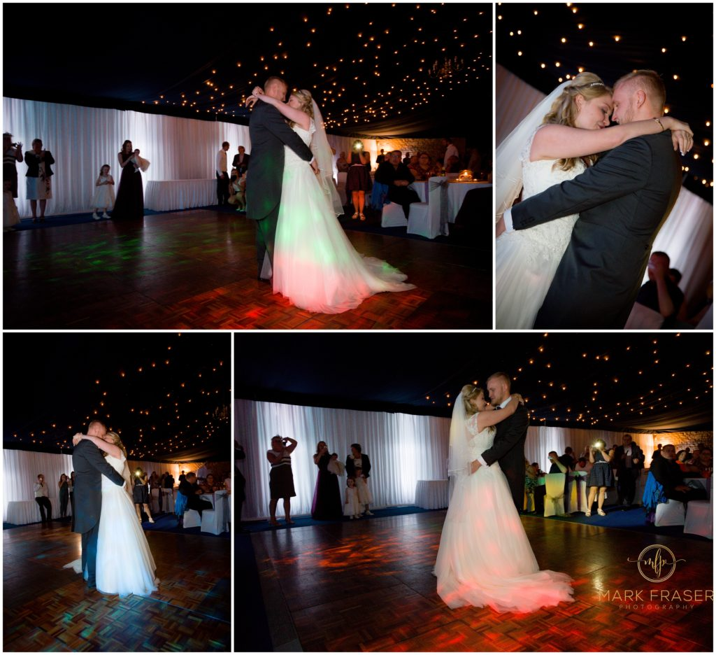 Sophie and Robert's Whittlebury Park Wedding - First Dance -Mark Fraser Photography