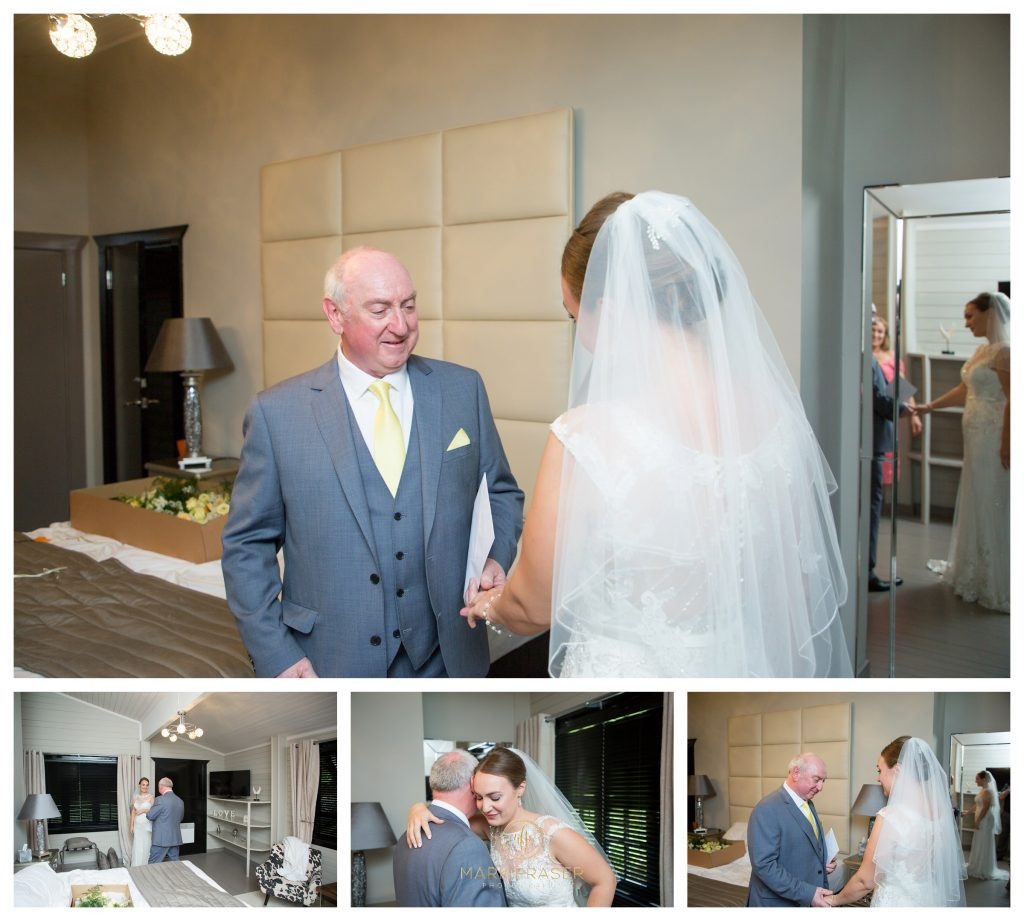 Dad's First sight of the Bride